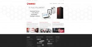immineo website design